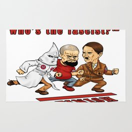 Who's The Fascist? Rug