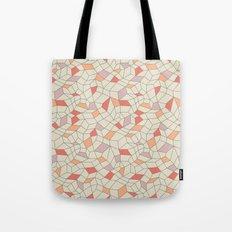 mod colorblock mesh Tote Bag