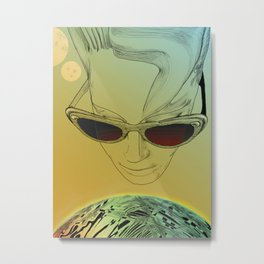 Wanda ,Kisses from Planet UZU !- Day version Metal Print