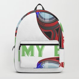 Funny Paintball Player Quote Sarcastic Game Backpack