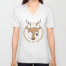 Mr. Deer Unisex V-Neck