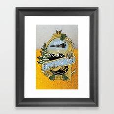 So Say We Ale Framed Art Print
