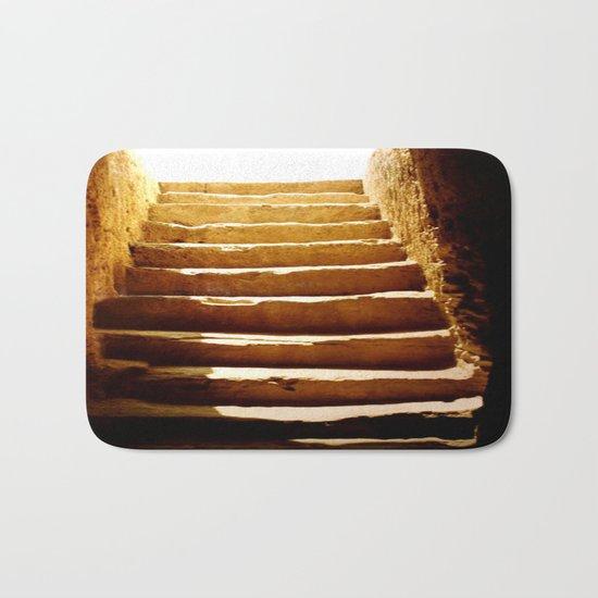 Steps to tomb Bath Mat