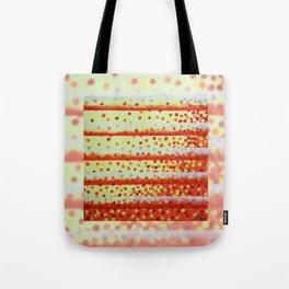 Horizontal Bars Tote Bag