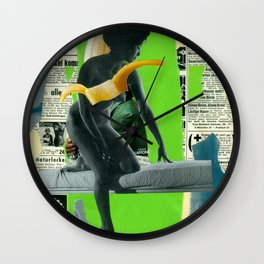 Venus (collaboration with the masterly Marko Köppe)  Wall Clock
