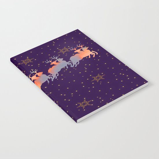 I dream of Santa Claus | Christmas Vision Notebook