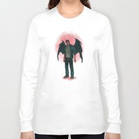 dean winchester Long Sleeve T-shirts featuring Dean Winchester. Demon by Armellin