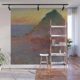 "Claude Monet ""Haystack (Meule)"" Wall Mural"