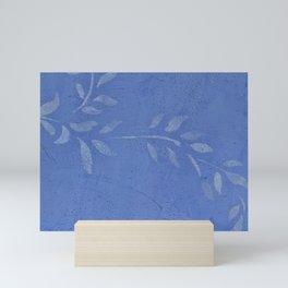 Blue Ivy Vine - Pretty - Rustic - Floral - Corbin Henry Mini Art Print