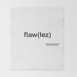 flawlez Throw Blanket