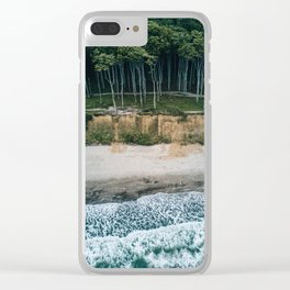 Waves, Woods, Wind and Water - Landscape Photography Clear iPhone Case