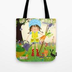 Emma is Gardening Tote Bag