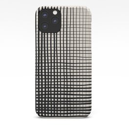 Horizontal & Vertical Lines iPhone Case