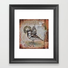 Church Bird Framed Art Print
