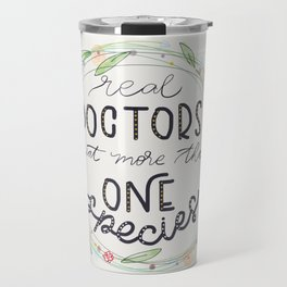 Real Doctors Travel Mug