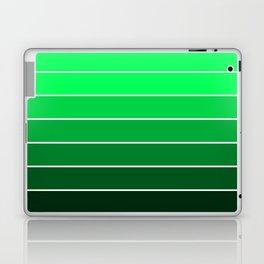 Sea Green Ombre Laptop & iPad Skin