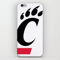 cincinnati iPhone & iPod Skins featuring NCAA - Cincinnati Bearcats by Katieb1013