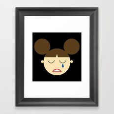 Princess Leia (by Disney) Framed Art Print