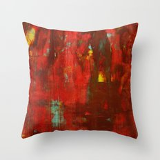 Abstract Painting 17 Throw Pillow