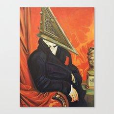 Baron Pyramid Head Canvas Print