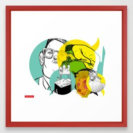 Blender (Join the conversation _Stage 1) Framed Art Print