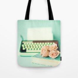 Typing With Love Tote Bag