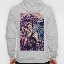 Black Trees Deep Pastel Space Hoody