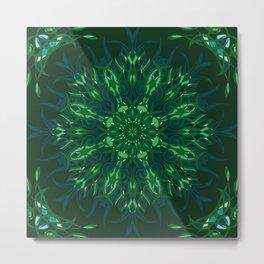 Dark Forest Colors - Mosaic - Version 2.0 Metal Print