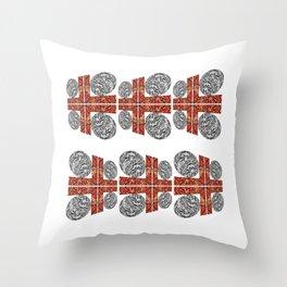 Grid Lock Throw Pillow