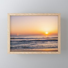 Atlantic Ocean Waves 4135 Framed Mini Art Print