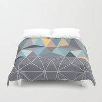 nordic Duvet Covers featuring Nordic Combination 31 by Mareike Böhmer