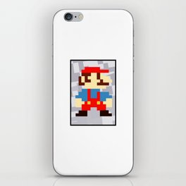 1up soda mario bros and gaming iPhone Skin
