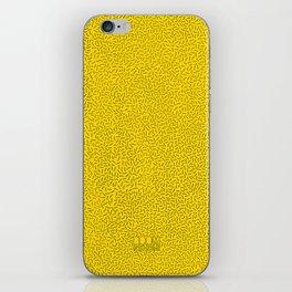 Boom Things: Memphis, Black on Yellow iPhone Skin