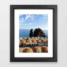 Monterosso al Mare B Framed Art Print