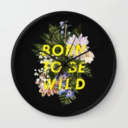 Born To Be Wild I Wall Clock