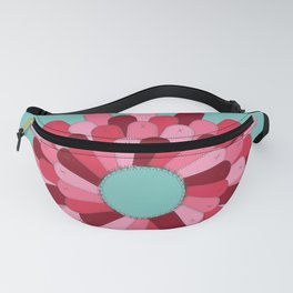 Patched Up Circle Fanny Pack