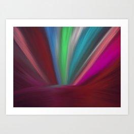 Light on Earth Art Print