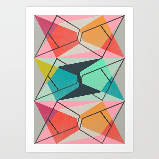 ColorBlock III Art Print