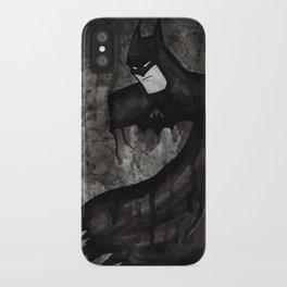 Black Bat iPhone Case