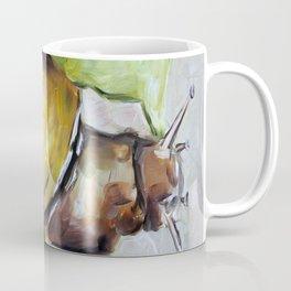 Snail, nature, green Coffee Mug