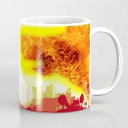 Atomic Bomb Heat Background Coffee Mug