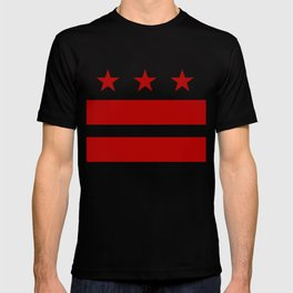 Washington DC District Of Columbia Flag T-shirt