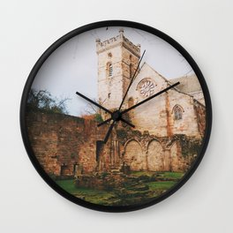 Culross Abbey II Wall Clock