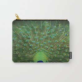 Peacock Wheel Carry-All Pouch