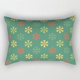 Bright Trees Stars Rectangular Pillow