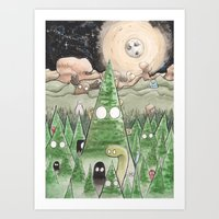 Our Friends Are Coming Back Art Print