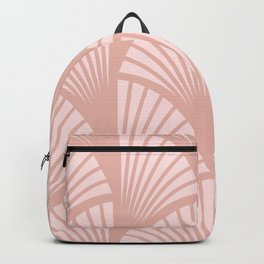 Fans in Pink Backpack
