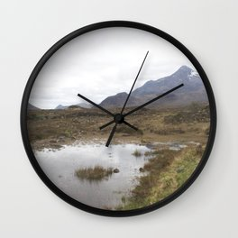 Mountains Lewis and Harris 1 Wall Clock