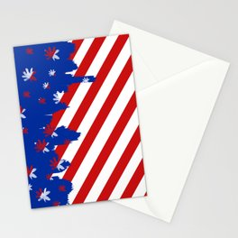 Patriotic Painting Stationery Cards