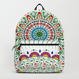 BOHEMIAN MANDALA CIRCLE DESIGN Backpack